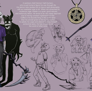 Alaster Character Sheet