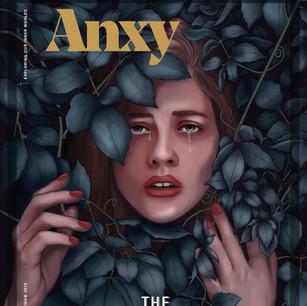 Anxy Magazine Mockup
