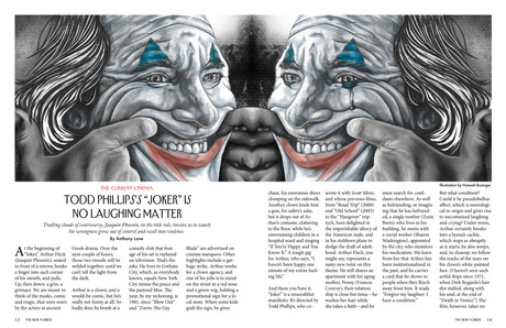 The New Yorker Spread Mockup