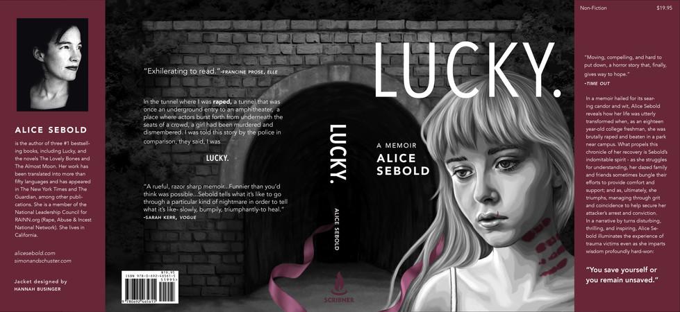 Lucky Book Jacket Design