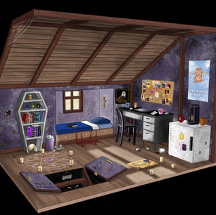 Alaster's room