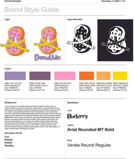 Imaginary Company Brand Standard Guide
