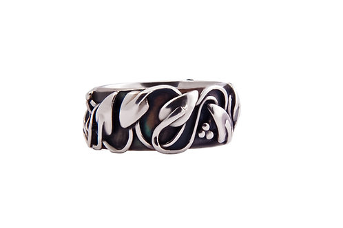 Walkley wide band ring
