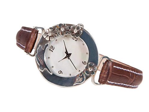 Hare Watch with Leather Strap