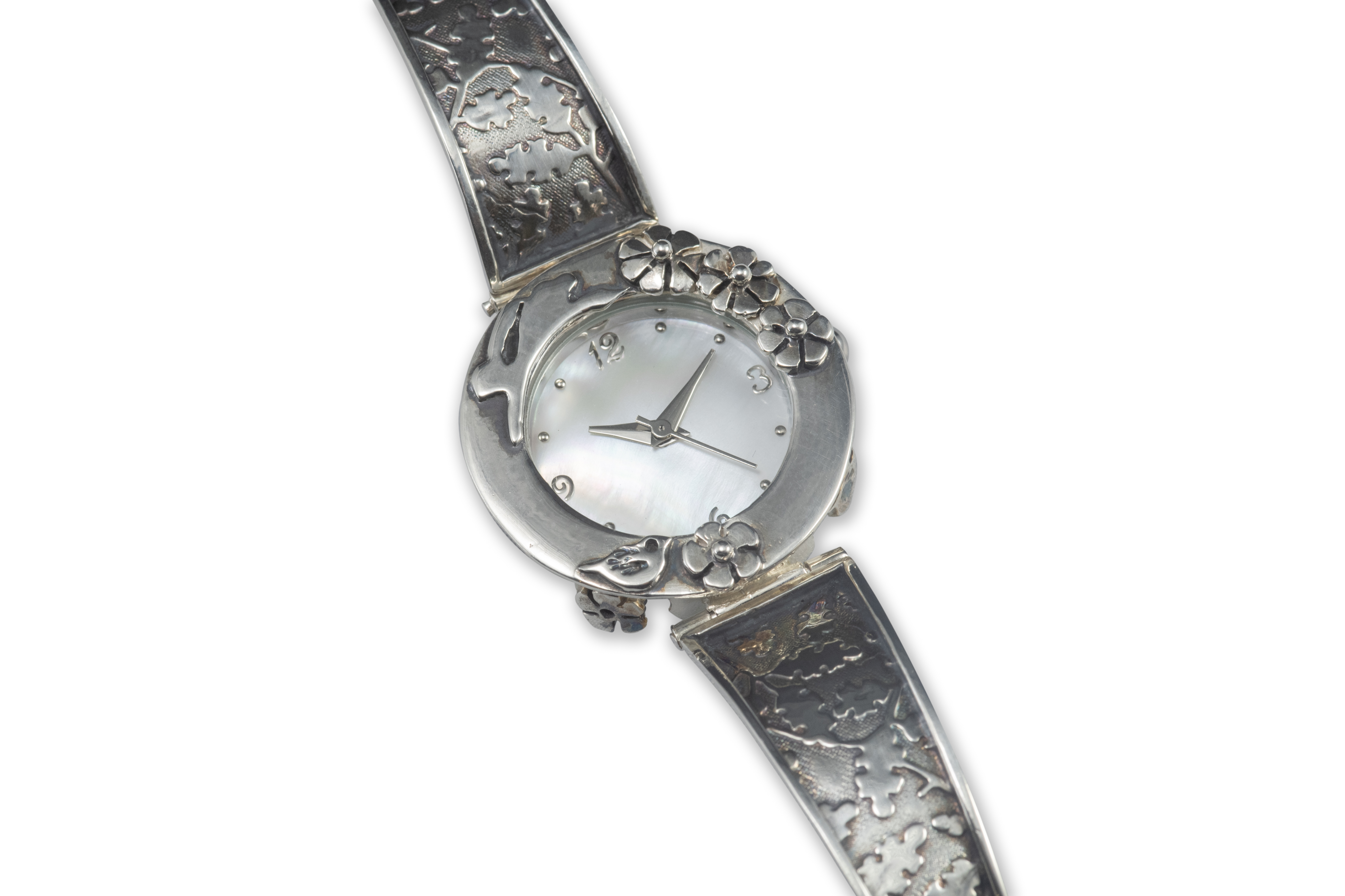 Hare Watch with silver strap