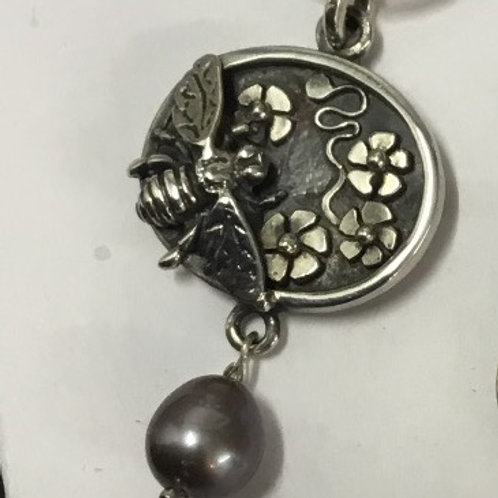 The Birds and Bees Pendant