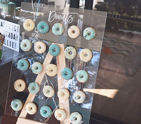 NEW DONUT WALL! 😍 now available to hire