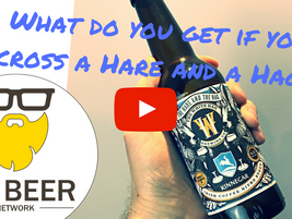 Video Irish Beer Review:  The Hare and The Hag - The White Hag/ Kinnegar