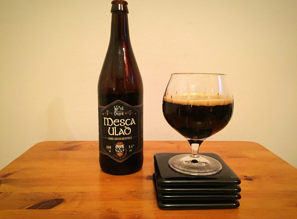 Mesca Ulad Beer Review poured