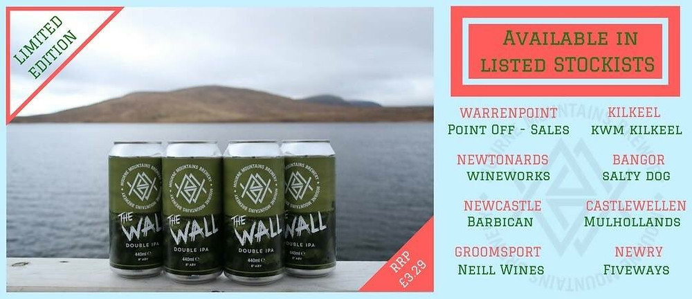 Mourne Mountains Brewery - The Wall - Stockists