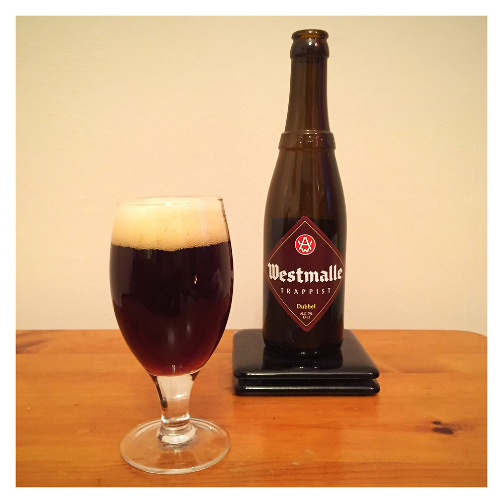 Westmalle Dubbel Poured - Craft Beer Reviews