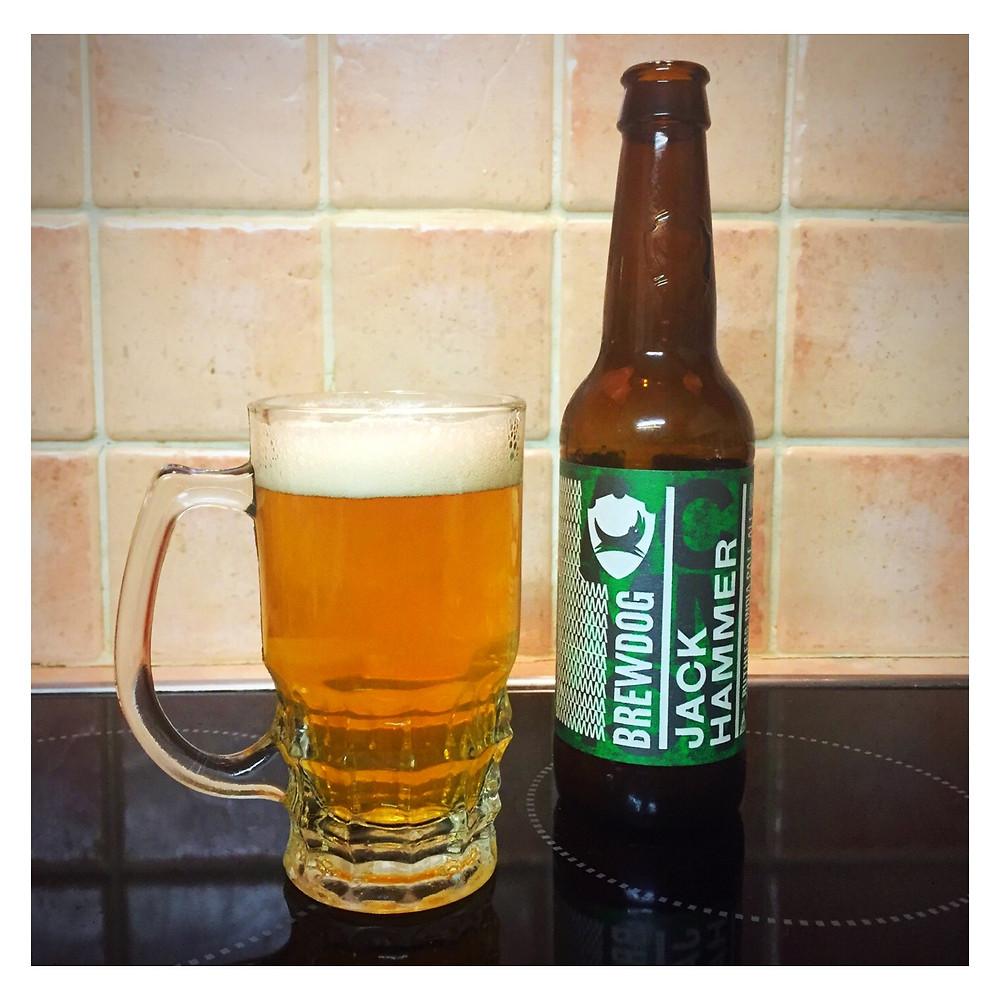 Jack Hammer poured - Craft Beer Reviews
