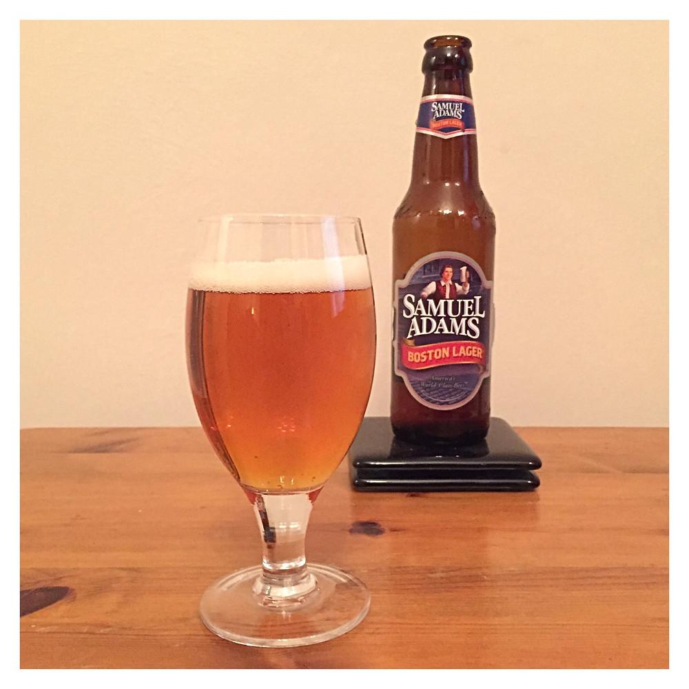 Samuel Adams Poured - Craft Beer Reviews