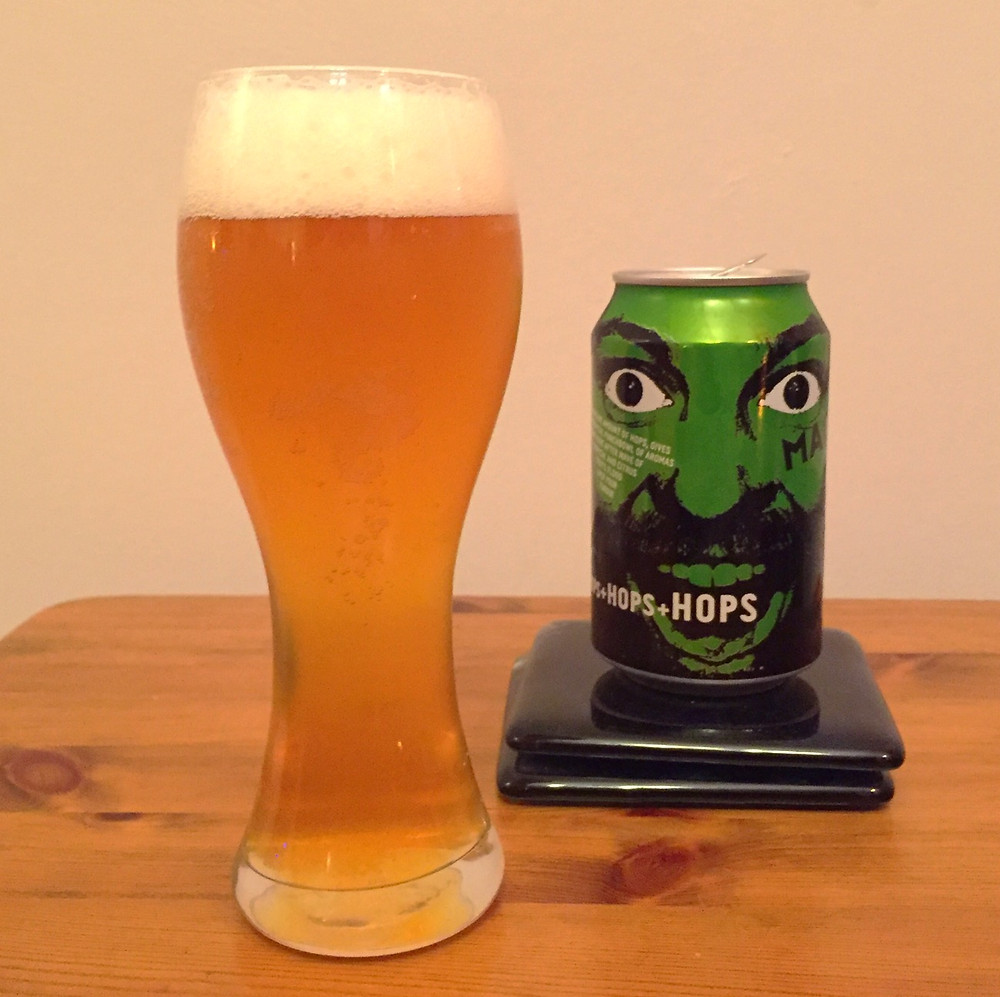 Madness IPA Poured - Craft Beer Reviews