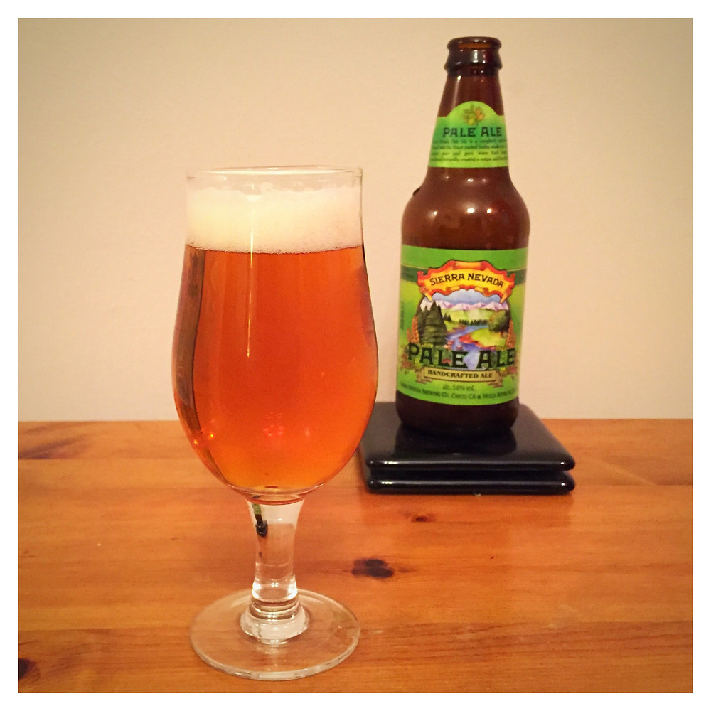 Sierra Nevada Pale Ale Poured - Craft Beer Reviews
