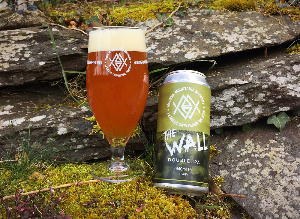 Irish Beer Review - Mourne Mountains Brewery - The Wall