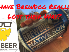 Video Beer Review:  Native Son - BrewDog