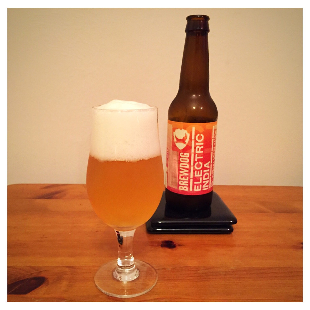 Electric India Poured - Craft Beer Reviews