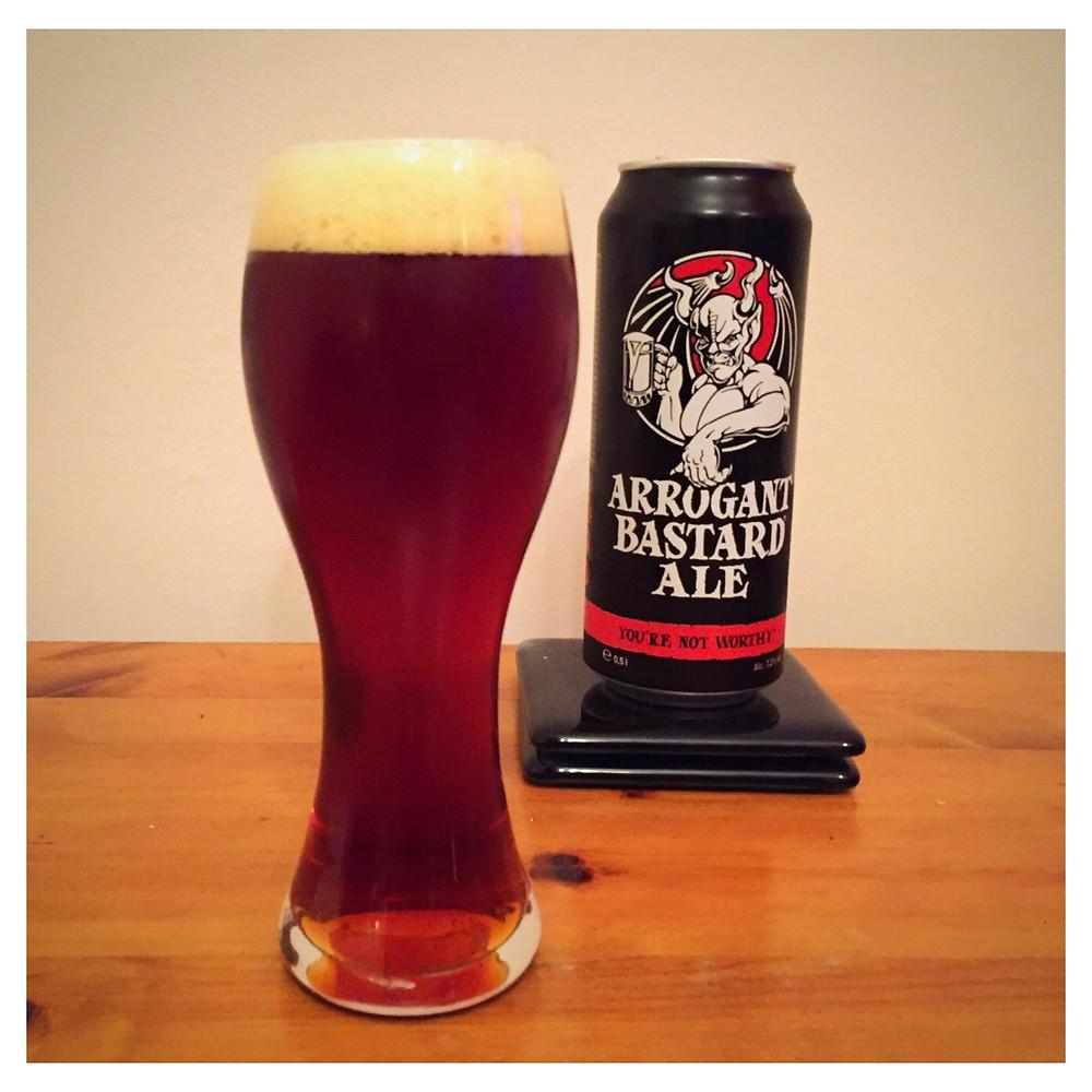 Arrogant Bastard Poured - Craft Beer Reviews