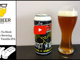 Video Beer Review:  Protect Ya Neck - Trouble Brewing