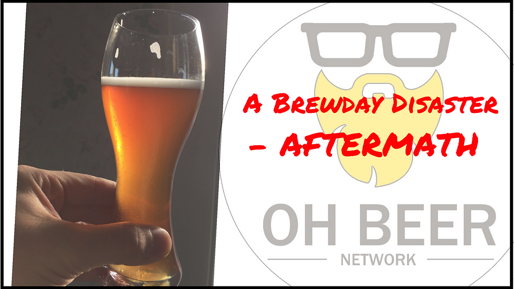 A Brewday Disaster - The Aftermath
