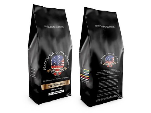 Two (2) - 1 lb Bags Of PCC - 2nd Amendment - Espresso