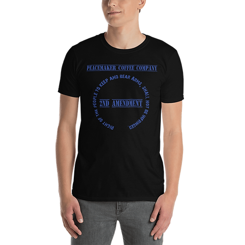 2nd Amendment - Blue Unisex T-shirt
