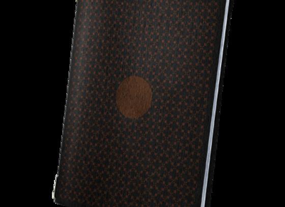 A5 Size Black Premium Eco Custom Covers