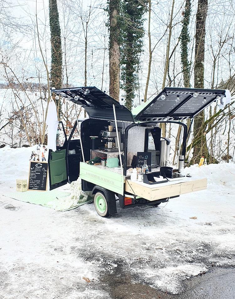 Piaggio Ape Mobile Bar Event Mobil Kaffeebar