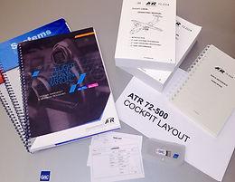 ATR Type Rating manuals