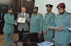 UAE certificates for combatting organised immigration crime training
