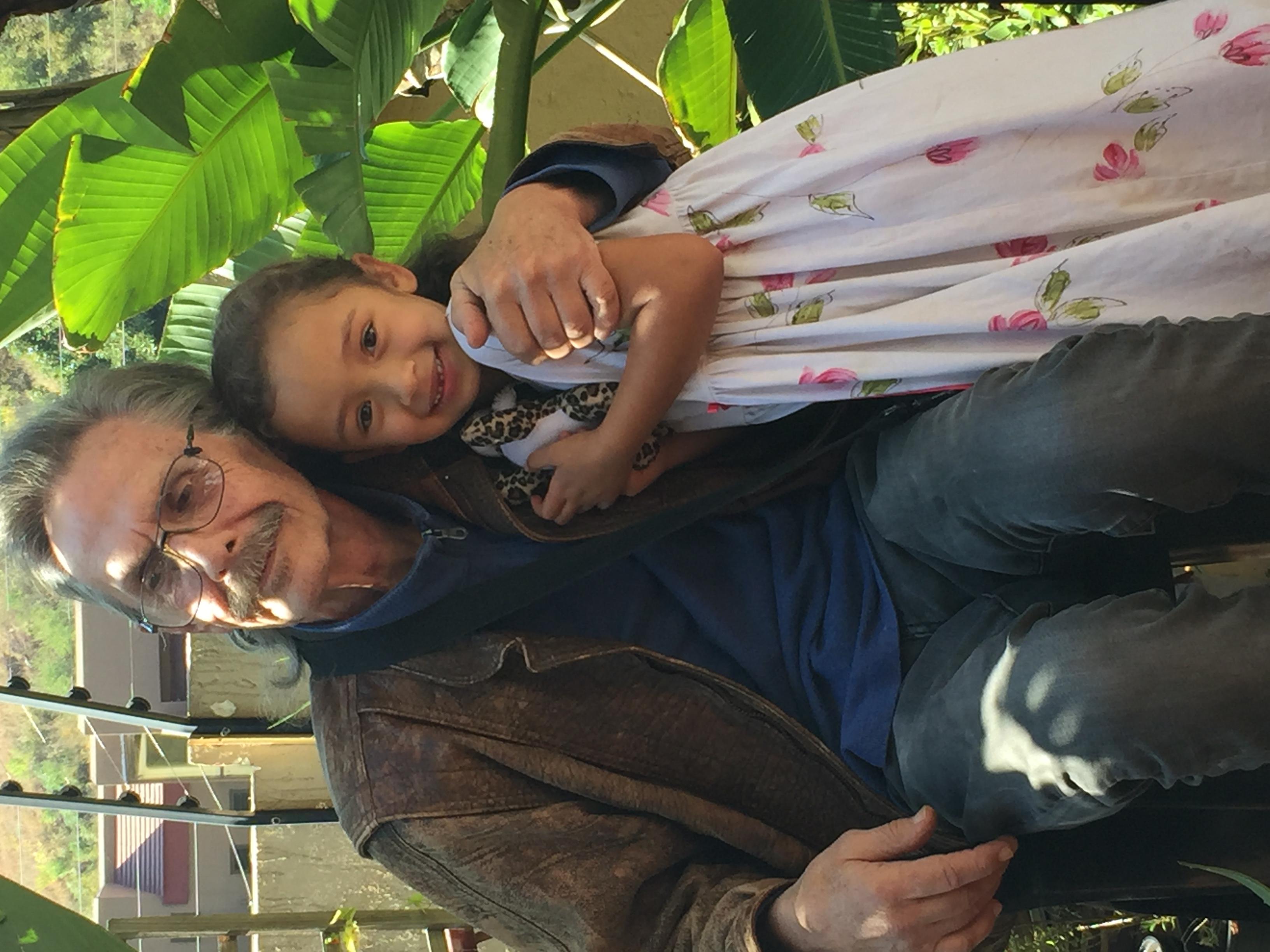 Ernest and granddaughter