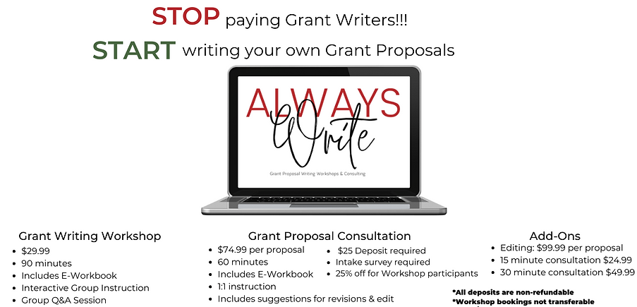 STOP paying Grant Writers and START writ