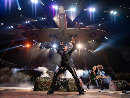 Iron Maiden inicia turnê mundial pelos Estados Unidos