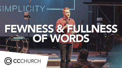 FEWNESS & FULLNESS OF WORDS