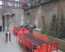 pavey square outdoor area