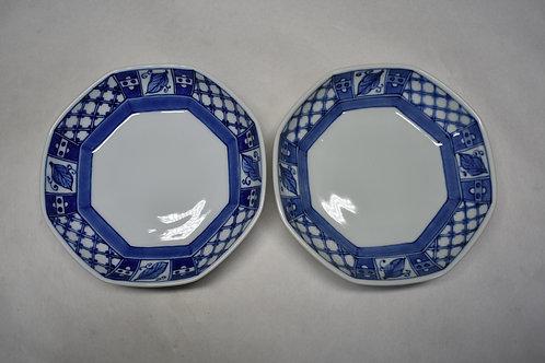 八角深皿 2枚セット
