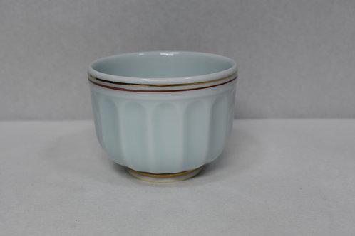 青磁渕赤金線 小鉢