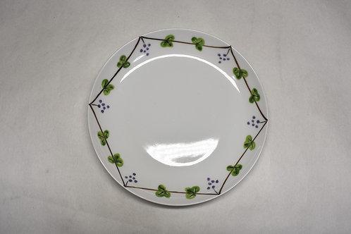 錦ぶどう絵 17㎝皿