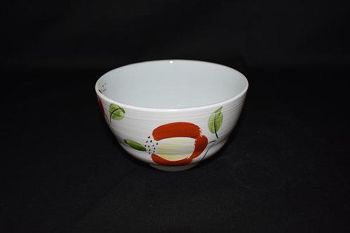 粉引椿抹茶碗