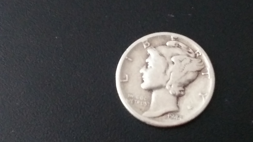 $1 FV mercury dimes