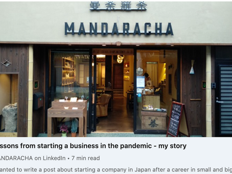 Lessons from starting a business in the pandemic - my story