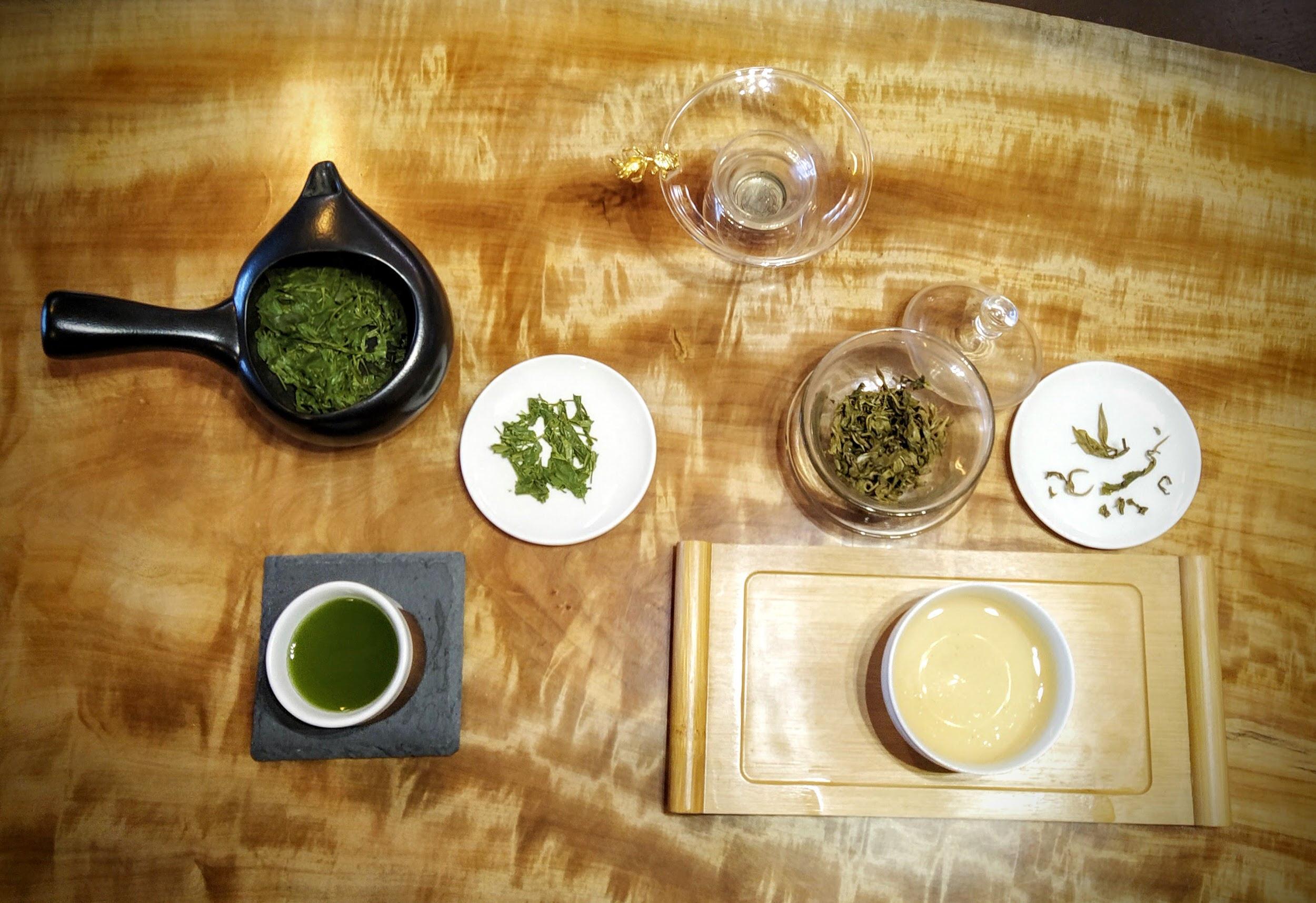 JAPANESE GREEN TEA VS CHINESE GREEN TEA