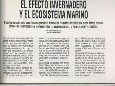 El Efecto Invernadero y Ecosistema Marino