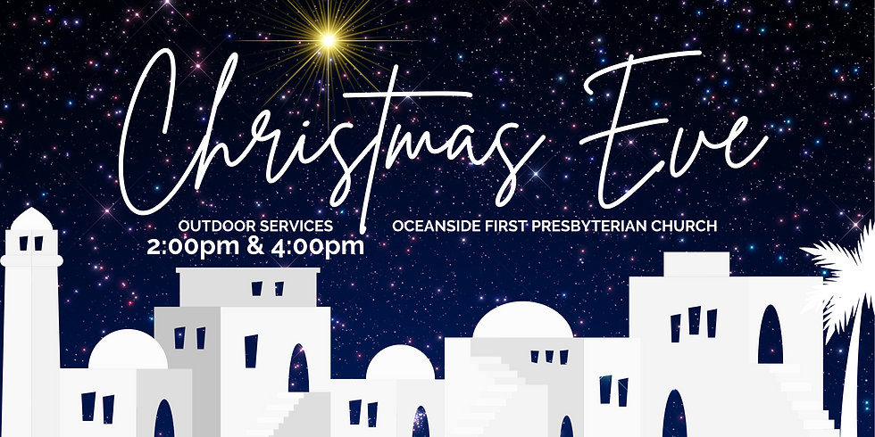 OUTDOOR CHRISTMAS EVE SERVICE