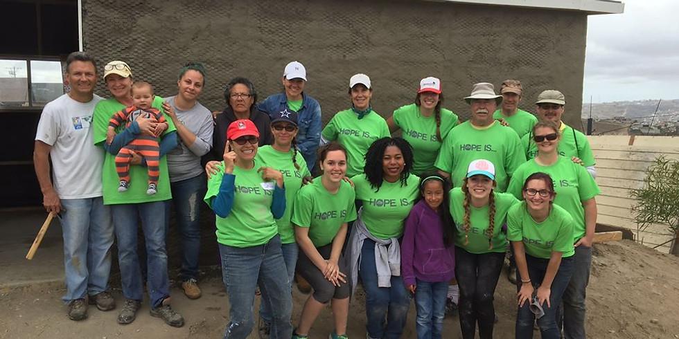 Come Build Hope Mexico Mission Trip