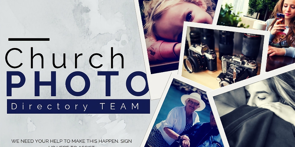 Church Photo Directory Volunteer Sign Up