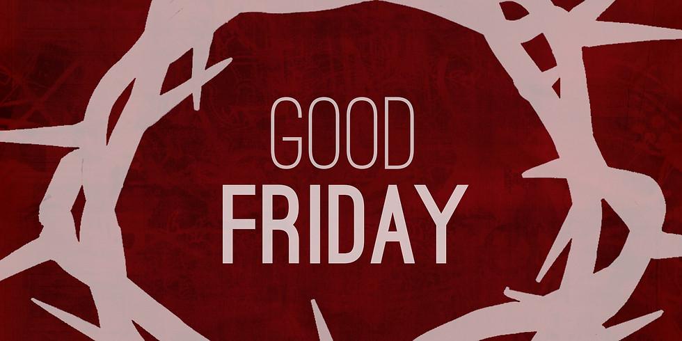 Good Friday Worship services