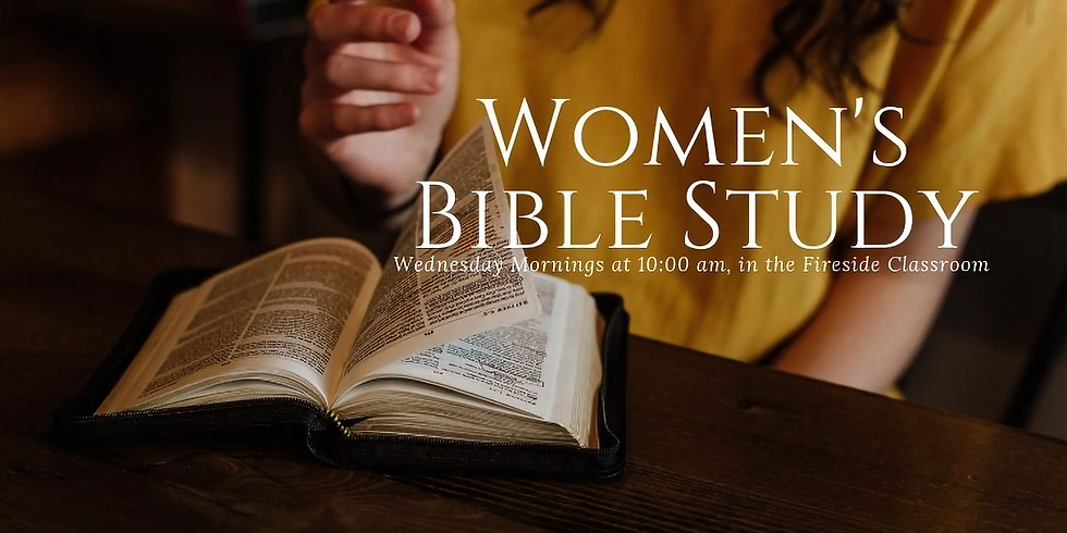 Wednesday mornings weekly women's Bible Study