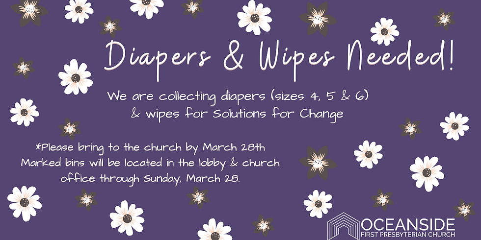 Diaper and Wipes for Solutions for Change